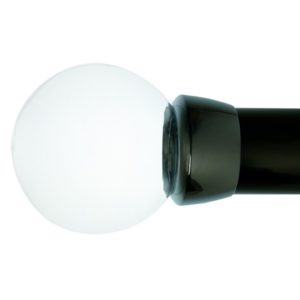 Oslo 50mm Plain Ball Finial With Plain Collar