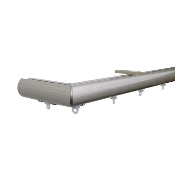 Now M51 28 mm Aluminum Poles Set Ceiling Bracket for 6cm Wave Curtains Champagne