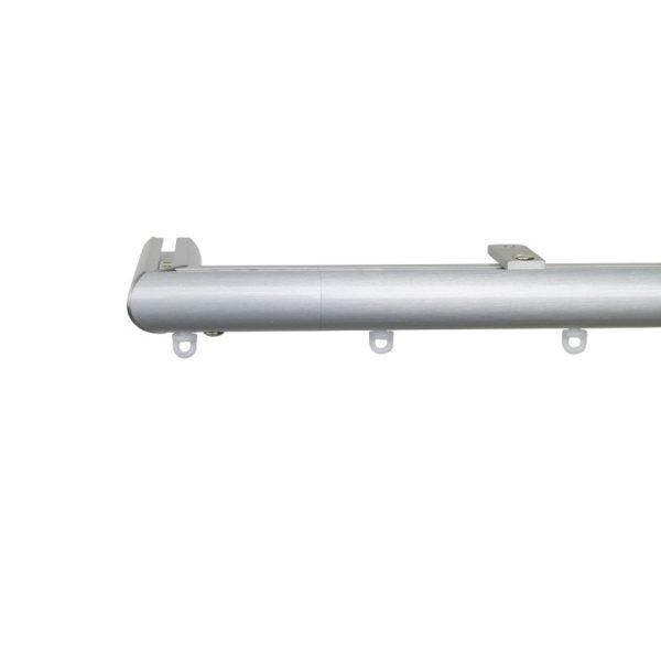 Now M51 28 mm Aluminum Poles Set Ceiling Bracket for 6cm Wave Curtains Natural