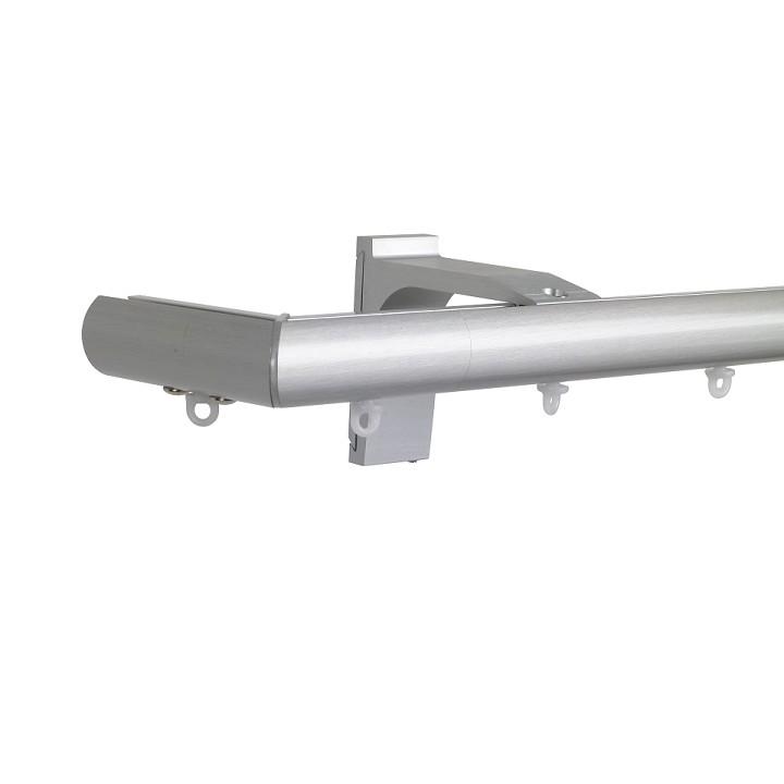 Now M51 28 mm Aluminum Poles Set Single Bracket for 6cm Wave Curtains Natural