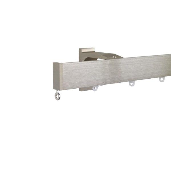 Now M51 40 x 18 mm Aluminum Poles Set Single Bracket for 6cm Wave Curtains Champagne, End Cap