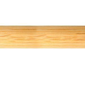 28mm Pole, Wood, White Oak, Natural Oil