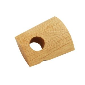 28mm Bracket, White Oak, Natural Oil, 70mm to wall