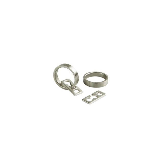 33/29mm Ring, with plastic inside, Steel