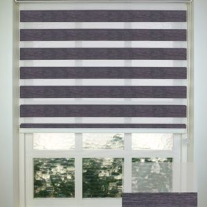 Elementi Comfy Charcoal Vision Blind