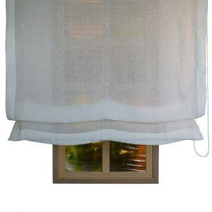 Alicante Copenhague Cloud Sheer Roman Blind