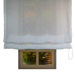 Alicante Copenhague Snow Sheer Roman Blind