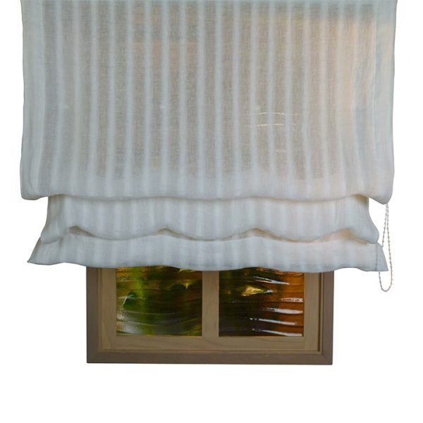 Alicante Lahti Stripes Sheer Roman Blind