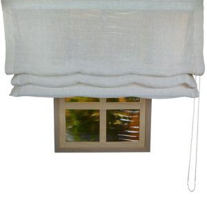 Alicante Litoral Sheer Roman Blind
