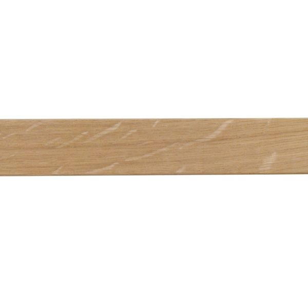 Kouvola 35 x 35 mm  Wood Poles for Wave Curtains Sawn Medium Oak