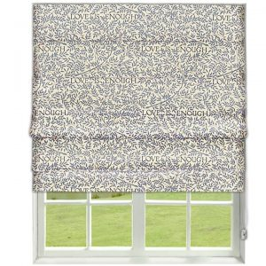Morris Love Is Enough Roman Blind