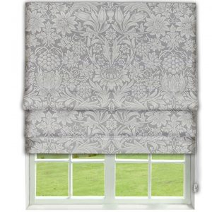 Morris Pure Sunflower Roman Blind