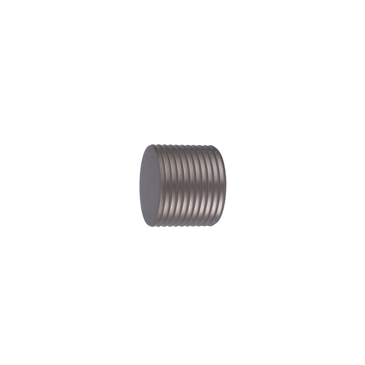 Oslo M81 28 mm Aluminum Poles for Wave Curtains Finial Cylinder