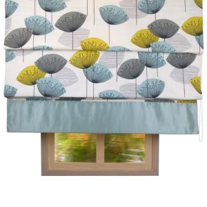 Sanderson Dandelion Clocks Chaffinch Roman Blind