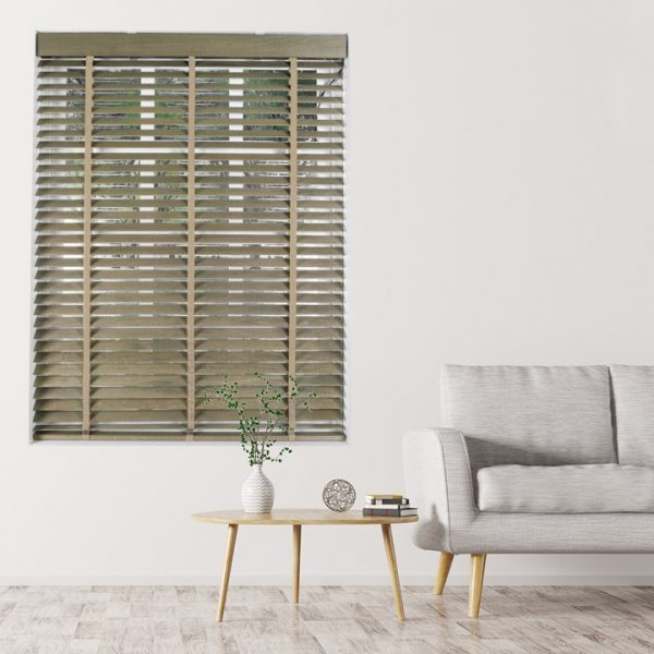 Elementi Cinnamon Wood Blind