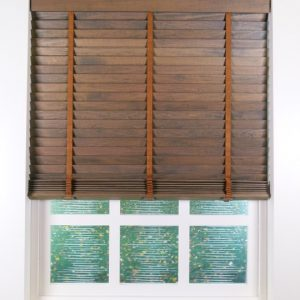 Elementi Walnut Wood Blind
